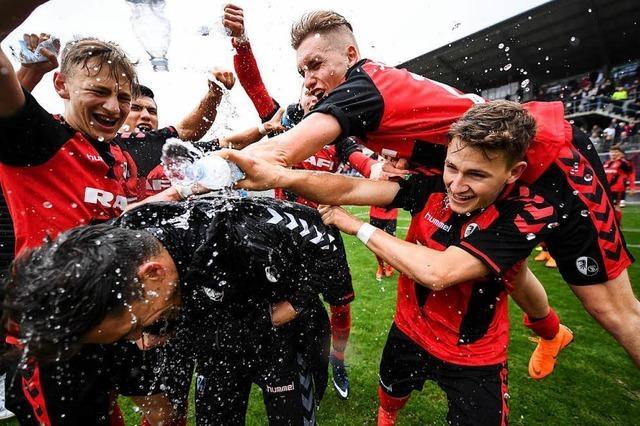 A-Junioren SC Freiburg – Borussia Mönchengladbach