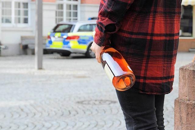 Party in Schopfheim eskaliert: vier Polizeistreifen im Einsatz