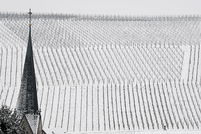 Fotos: Der Winter ist zurück - Südbaden versinkt im Schnee