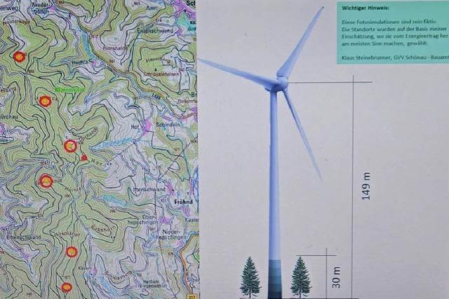 In Wembach ist das Stimmungsbild eher kontra Windkraft