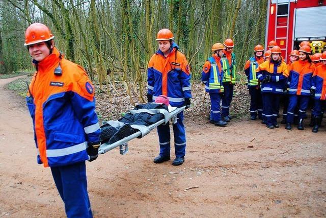Die Jugendfeuerwehr in Weil am Rhein war 48 Stunden lang im Dienst
