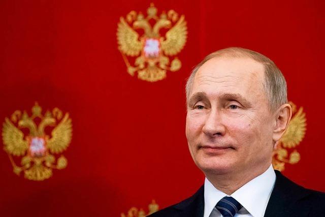 Putin für vierte Amtszeit als russischer Präsident wiedergewählt