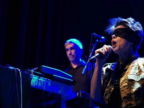 Polit-Punk von Pussy Riot gab es am Samstagabend im E-Werk.