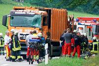 Tödlicher Müllwagenunfall: 1 Jahr Haft auf Bewährung für Fahrer
