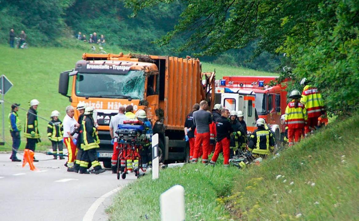 Tödlicher Müllwagenunfall Ein Jahr Haft auf Bewährung für Fahrer