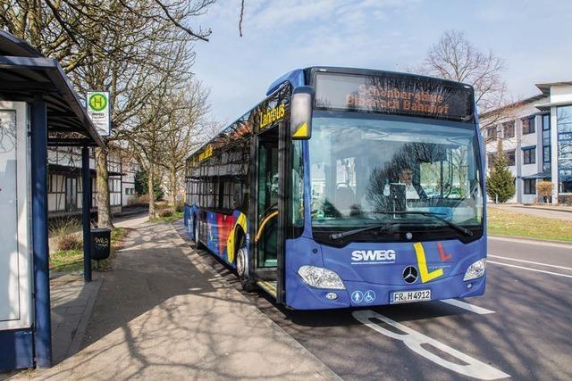 Die Freizeitbusse der SWEG sind wieder unterwegs