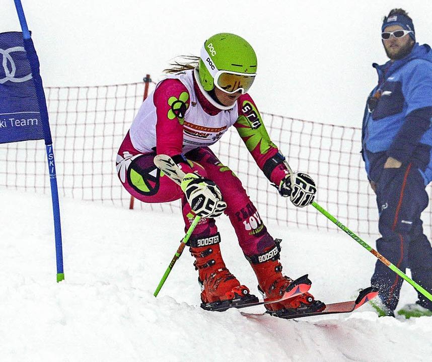 Emilia Löffler erreichte mit dem Topte...rtelfinale war allerdings Endstation.     Foto: Martin Siegmund