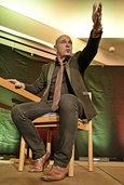 Frank Sauer: Mit Vollgas durch den Abend