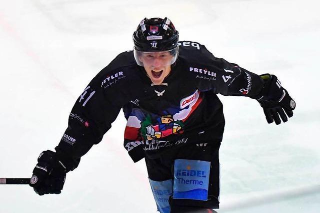 EHC Freiburg gewinnt in Bad Tölz die längste Overtime seiner Clubgeschichte