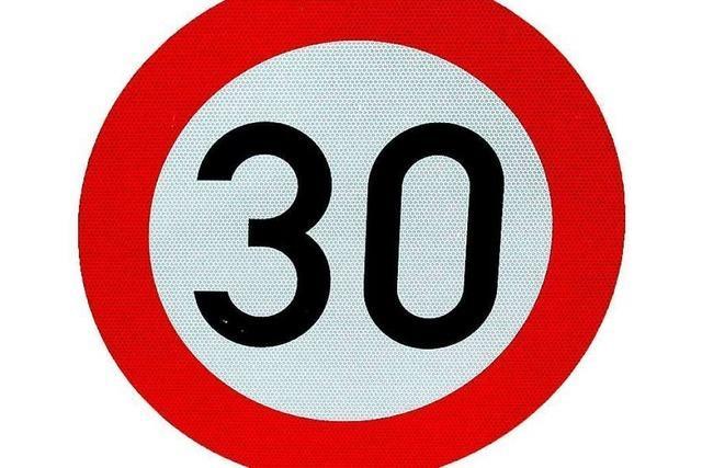 Tempo 30 auf der Elsässer Straße im Freiburger Westen