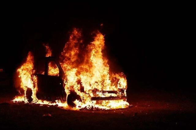 Fahrzeugbrand in Lahr - hat der Brandstifter wieder zugeschlagen?
