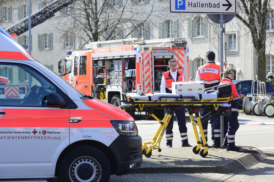 Bisher gibt es keine Verletzten.  | Foto: Ingo Schneider
