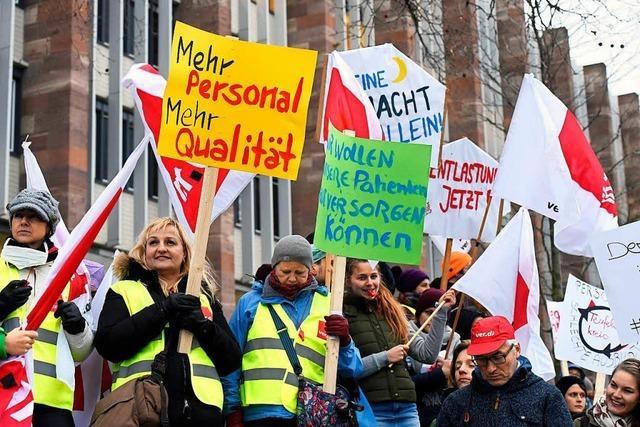 Verdi und Uniklinik Freiburg streiten sich über die Vertretbarkeit von Streiks