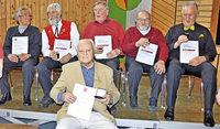 Rekordhalter singt seit 70 Jahren im Gesangverein
