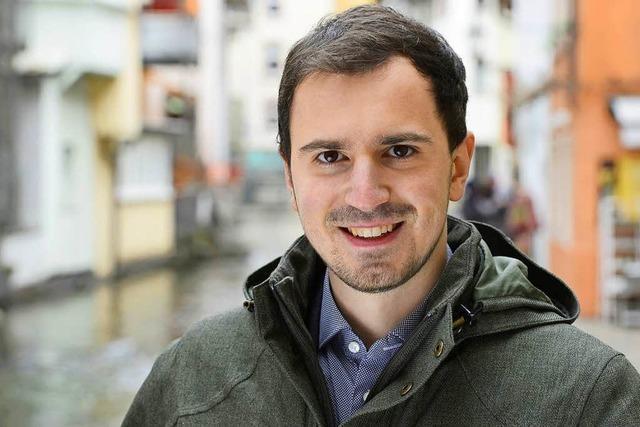 Der SC-Freiburg-Fan Manuel Gaber kämpft für die 50+1-Regel