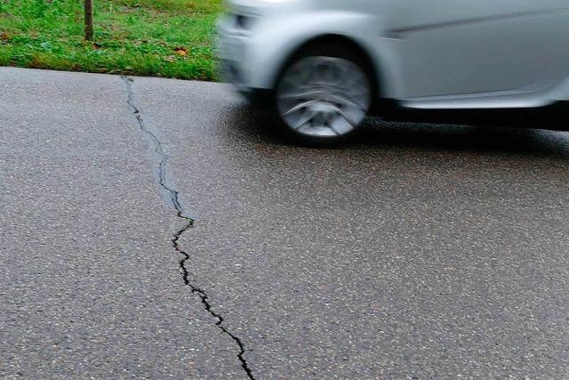 Straßensperrung für die Sanierung vom 3. bis 20. April