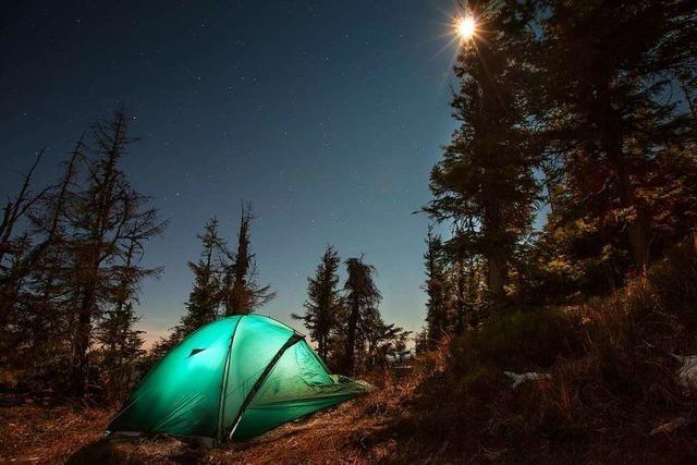 Wanderer sollen bald am Albsteig und Schluchtensteig zelten dürfen