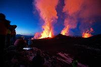 Vulkanausbruch förderte das Christentum auf Island