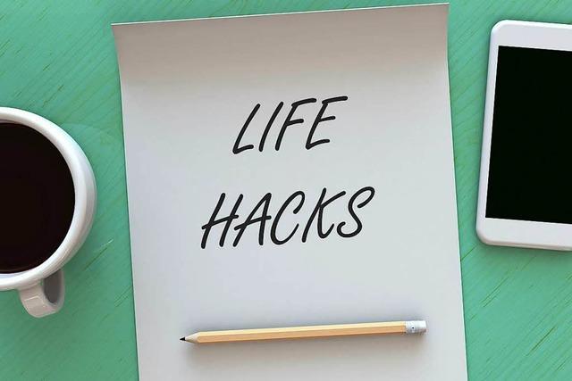 15 Lifehacks, die deinen Alltag einfacher machen