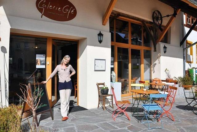 Das Galerie Café Bamlach lockt kulinarisch und kulturell