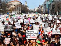 """Fotos: """"March for our lives"""" in den USA für schärfere Waffengesetze"""