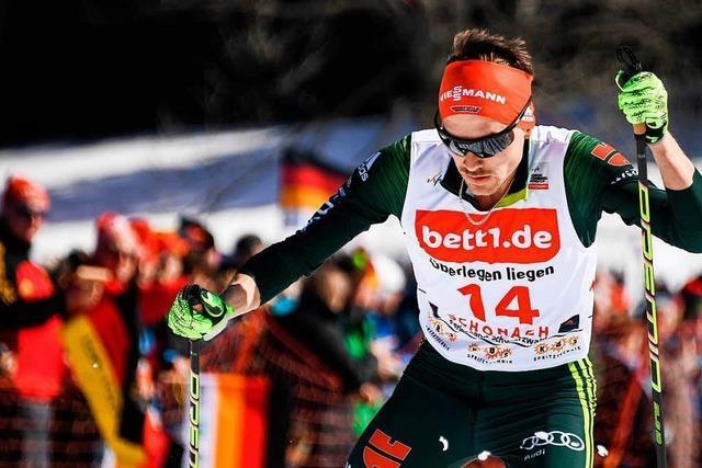 Schwarzwälder Fabian Rießle Siebter beim Heim-Weltcup in Schonach
