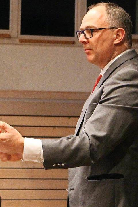 Dirigent Jean-Christophe Naas  | Foto: Anja Bertsch