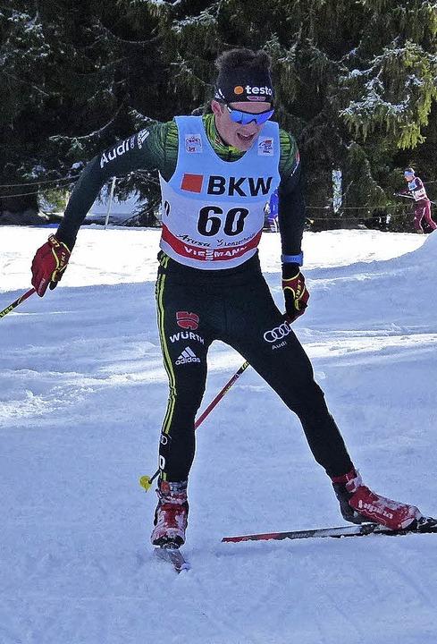 Skilangläufer Janosch Brugger  | Foto: ZVG
