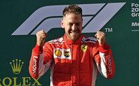 Vettel siegt in der Box