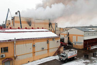 Brand in sibirischem Einkaufszentrum tötet viele Menschen