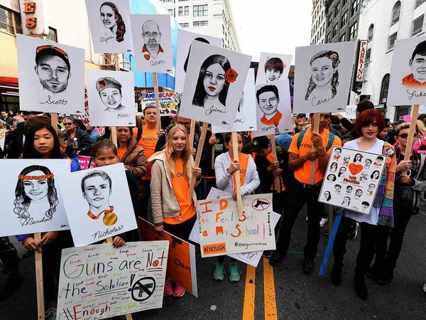 """""""March For Our Lives"""" - ein Marsch für unser Leben"""