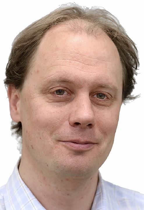 Manfred Kröber Mitglied der Grünen    Foto: Thomas Kunz
