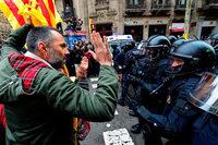 Katalanische Separatisten sortieren sich nach Puigdemonts Festnahme neu