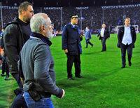 Harte Strafen nach Revolver-Skandal im griechischen Fußball