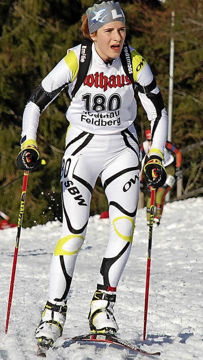 Emilie Behringer gewann mit ihrer Part...rint und Saisonabschluss am Notschrei.  | Foto: Jürgen Ruoff