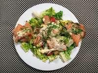Den Caesar Salad brachte ein Italiener nach in Kalifornien