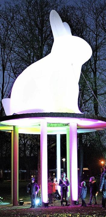 Österliches Lichtspektakel im Kurpark  | Foto: Hans Jürgen Kugler