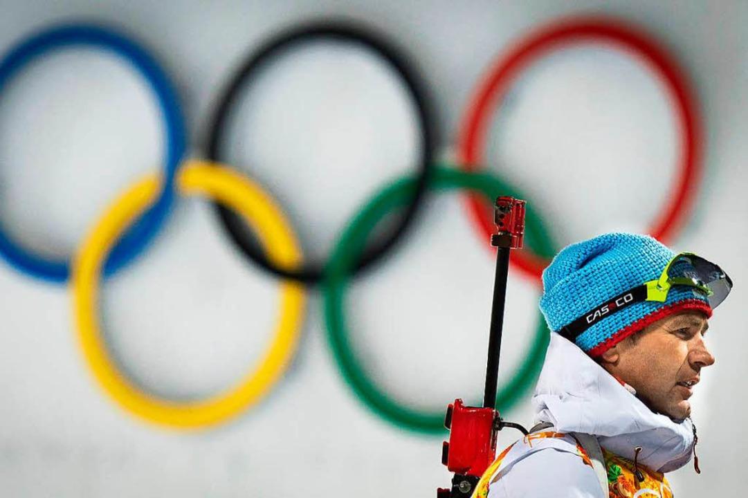 Ole Einar Björndalen beendet seine Karriere.  | Foto: AFP