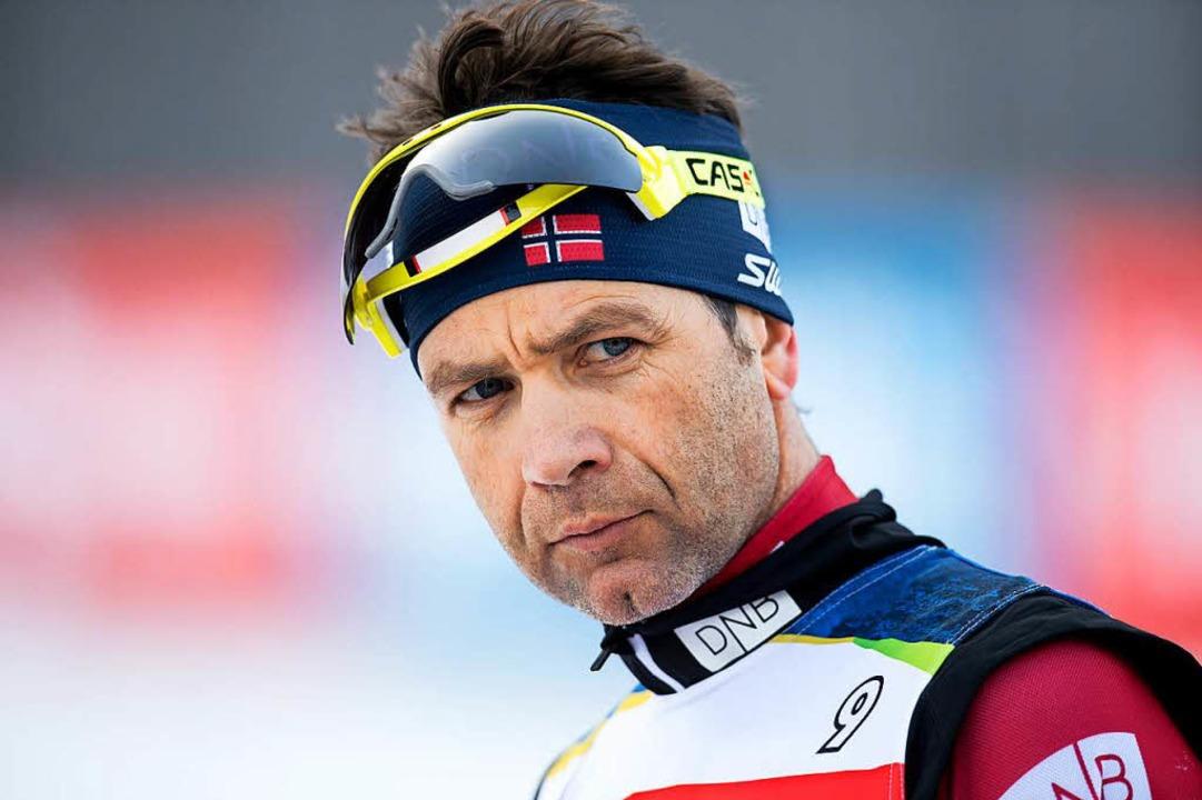 Ole Einar Björndalen beendet seine Karriere.  | Foto: dpa