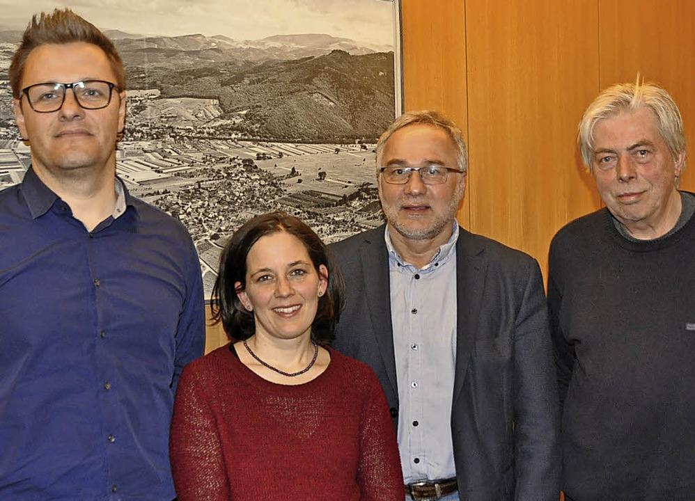 Der neue Vorstand des Bürgervereins  G...gjährige erste Vorsitzende Ulrich Wüst  | Foto: Rainer Ruther