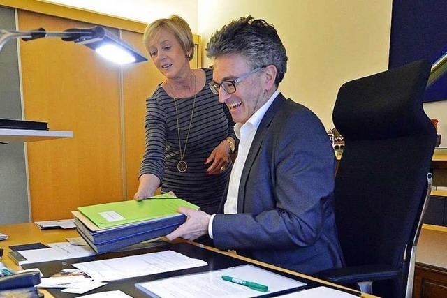 Freiburgs OB Dieter Salomon will es nochmal wissen