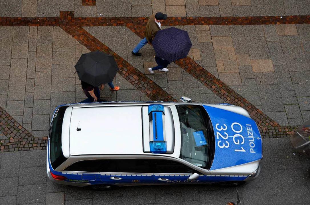 Ein Offenburger Polizeiauto  | Foto: Helmut Seller