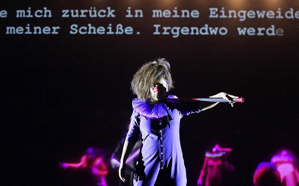 "Szene aus Nüblings  ""Hamletmaschine""    | Foto: langkafel"