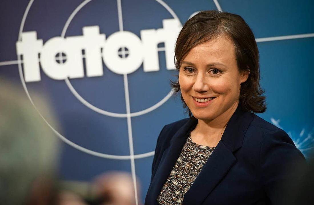 Schauspielerin Eva Löbau als Kommissar...im neuen Team des «Tatort-Schwarzwald»  | Foto: dpa