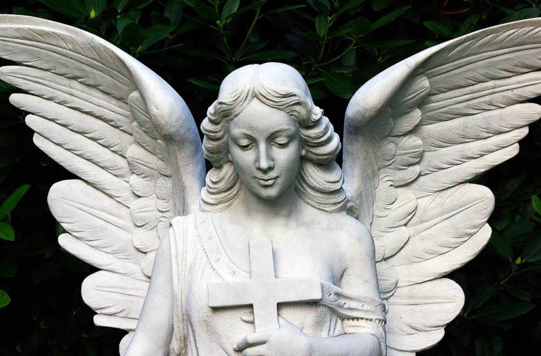 Ein Engel aus Stein  | Foto: flia (stock.adobe.com)