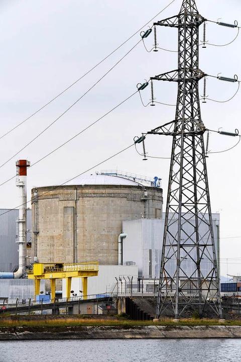 Das Atomkraftwerk in Fessenheim  | Foto: Siegfried Gollrad