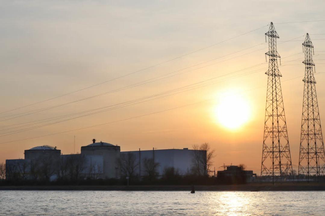 Das Atomkraftwerk in Fessenheim  | Foto: dpa
