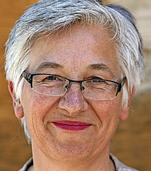 Gewinnerin des diesjährigen Solidar-Energie-Preises: Irene Schumacher.   | Foto:  F. Grosse