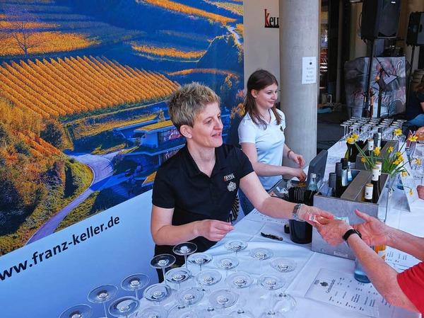 2. Genussmarkt der Badischen Zeitung und dem Weingut Franz Keller.