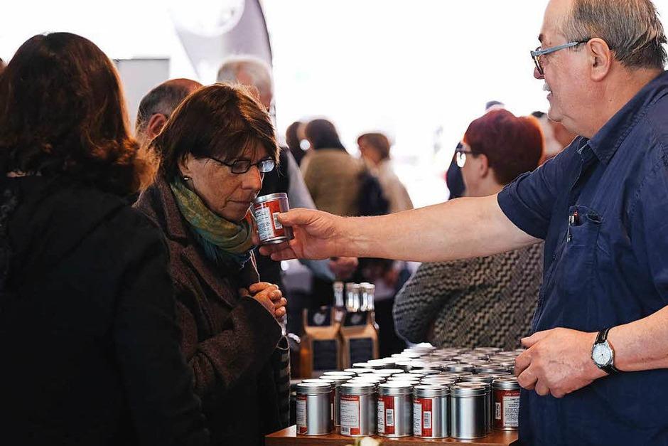 2. Genussmarkt der Badischen Zeitung und dem Weingut Franz Keller. (Foto: Miroslav Dakov)